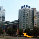Minsk, Pobediteley avenue 11, floor 10